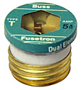 "Fusetron Edison Base Fuses Type ""T"" - Large Base"