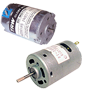 DC Motors: 24v nominal