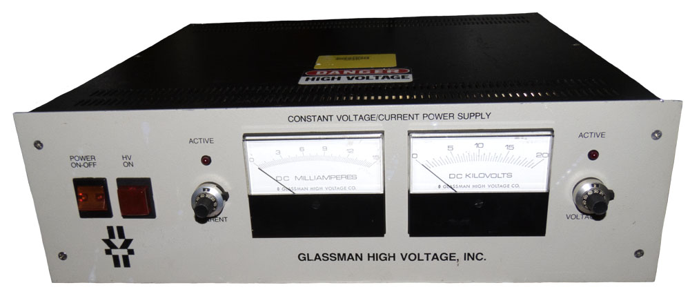 Glassman Power Supply 0-20 kv