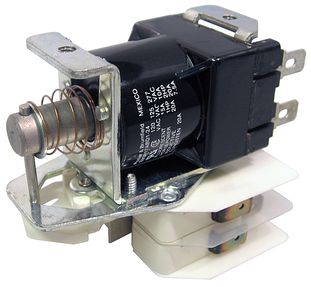 Open frame relays ac